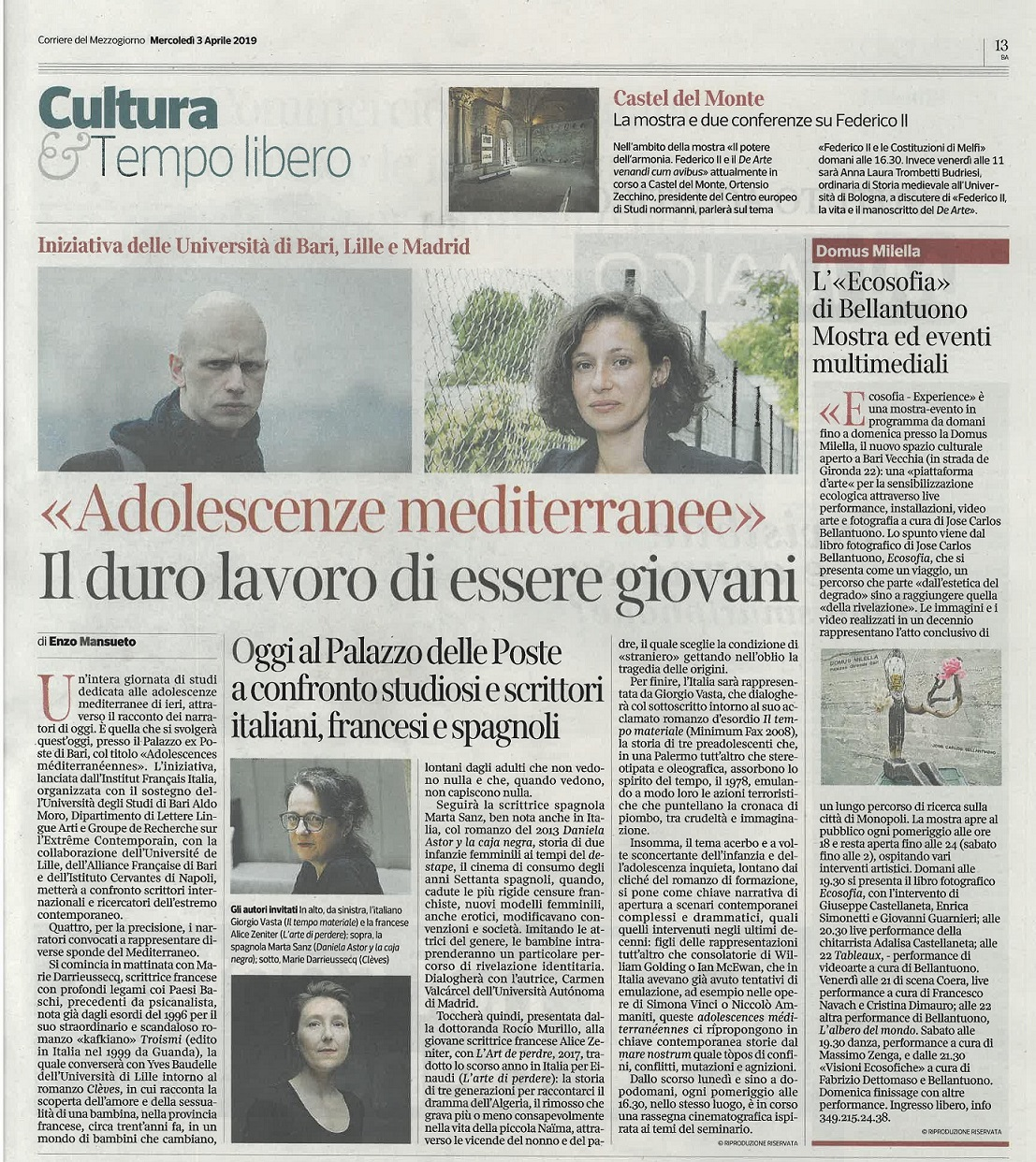 Article Corriere - Extrait - copia